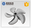 Titanium Material and 3 Blades propeller shaft for marine and ship