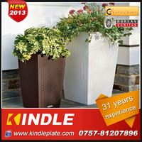 Kindle 2013 New polychrome round zinc garden planter with 31 years experience