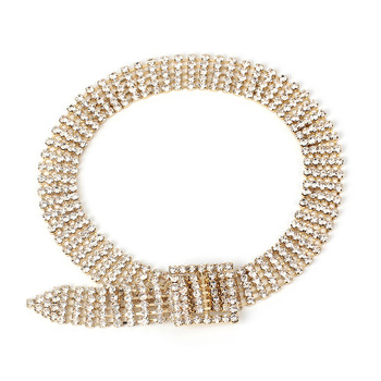Hot explosion short choker necklace female full diamond super flash clavicle chain