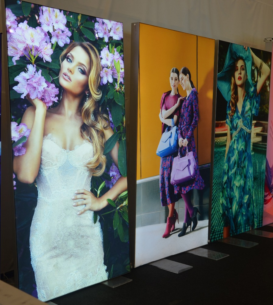 Fabric light box slim frameless edgelit new shopping mall textile <strong>poster</strong> surface display