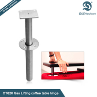 DLS CT820 height adjustable sofa leg stainless steel table leg height adjuster