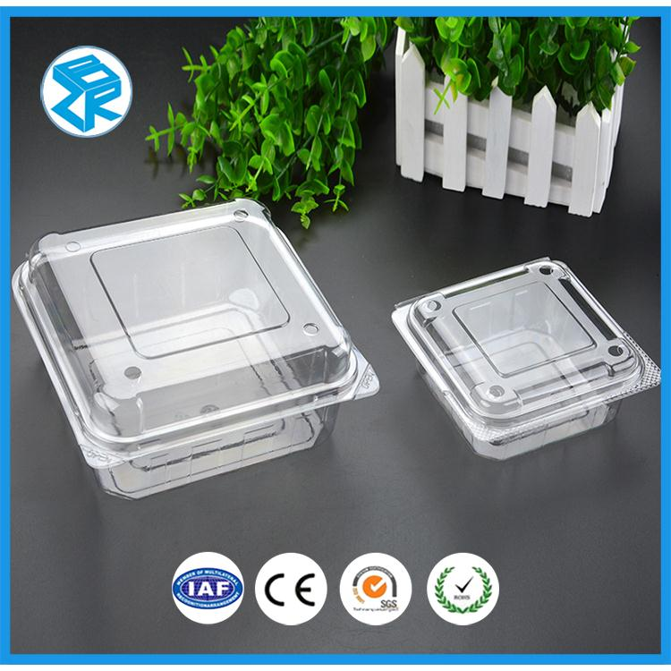 disposable plastic fruit packing box dates packaging container