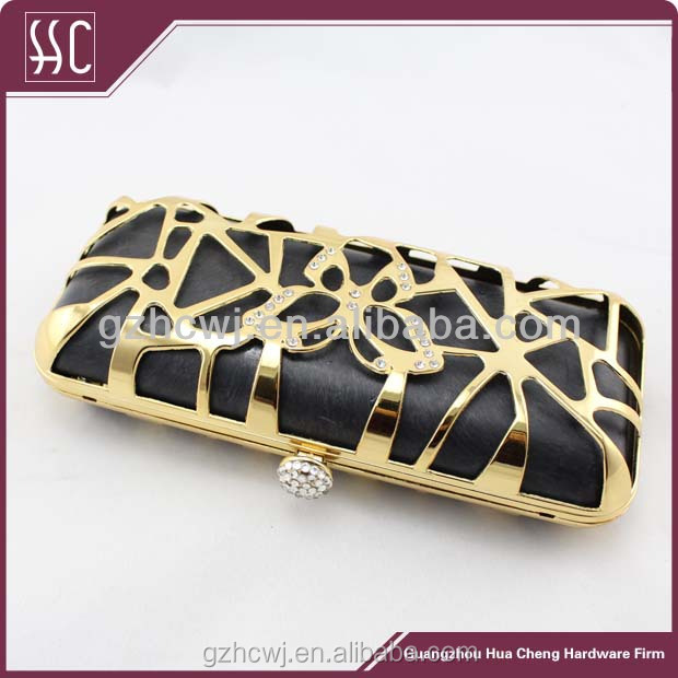 high quality purse frames fashion box clutch frame wholesale