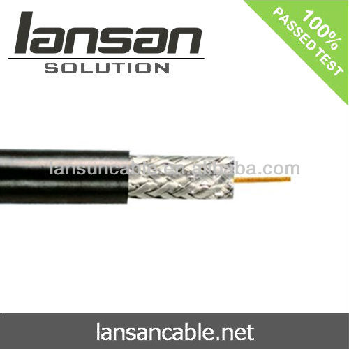 Coaxial Cable Lead Free PVC For RG59 /RG6 /RG11