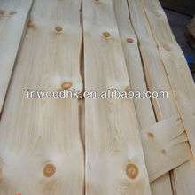 Hot Sales Natural Knotty Pine Veneer for Home Furniture