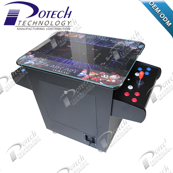 2 side 2 players cocktail table arcade game machine