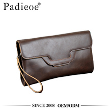 Padieoe PDA350-Y PU material low MOQ hand purse for men