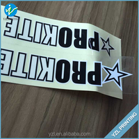 Professional sticker factory cricket bat stickers