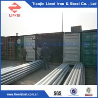 China Supplier Threaded Galvanized Steel Tube