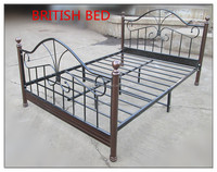 modern metal wall bed fashionable double bed furniture hot sale general use