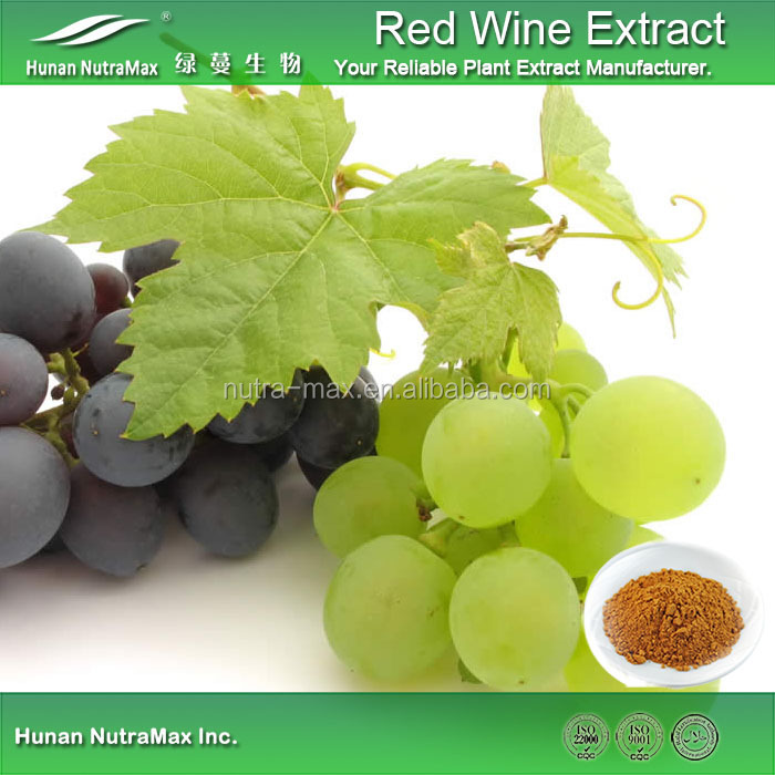Food Grade Red Wine Extract 4:1 Manufacturer