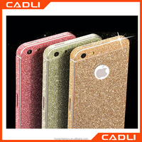 Luxury Colorful Shiny Glitter Diamond Bling Full Body Cover Skin Sticker Screen Protector For iphone 6plus