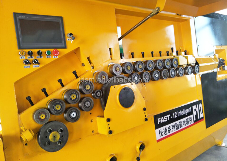 Discount price F12 Type automatic steel bar bending machine/ stirrup bending machine producer