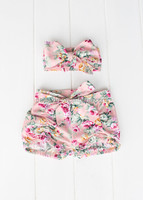 baby bloomers wholesale for kids bloomer shorts with headband young girl tube