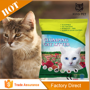 add 3% colorful granule Deserve Owned and High Amazing Quality wholesale bentonite cat litter By Shipping