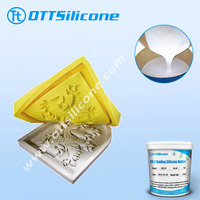 Sculpture casting/molding silicone rubber for plaster of Paris sculptures duplication/historical products restoration