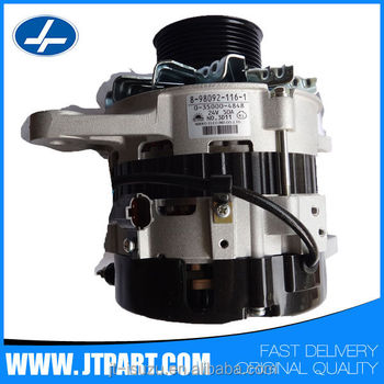8-98092116-1 for auto truck 24V 50A diesel car alternator