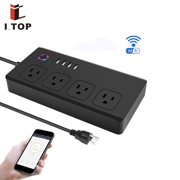 smart <strong>plug</strong> with usb power strip multiple power socket