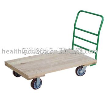 Platform handtruck with removable handle