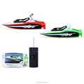 YK0809530 Novel remote control toy fast blue speed ship for kids