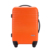 Women and men bright orange color 20 24 28 inch ABS travelling suitcase