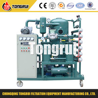 Double-stage Used transformer oil treatment machine