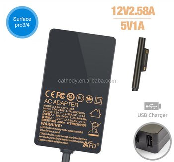 New Replacement Ac Adapter 12v 2.25a 15V 1.6A For Microsoft Surface Pro3 4