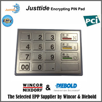 Justtide PCI 2.0/3.0 Metal ATM EPP for Wincor Maintaining