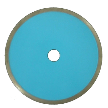 Unique super thin circular disc continuous rim diamond blade