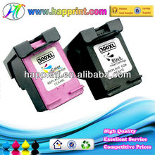 Refillable inkjet cartridge, high quality cartridge for hp300, original ink cartridge