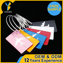 competitive price luggage tag made in china with low price