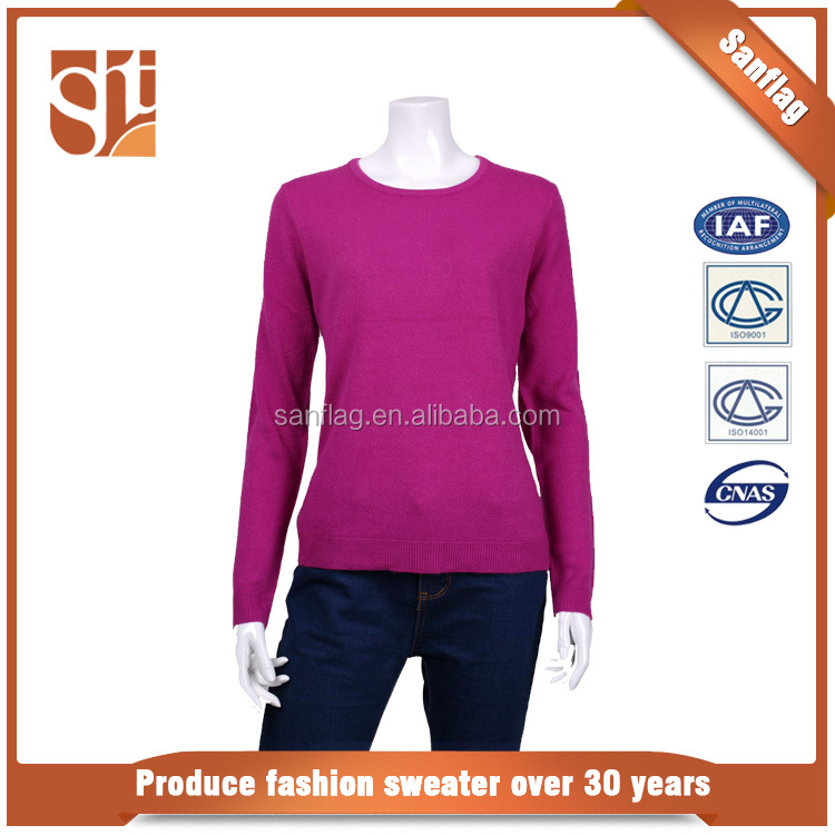 Hot Selling new fashion design women cashmere sweater,cashmere sweater women