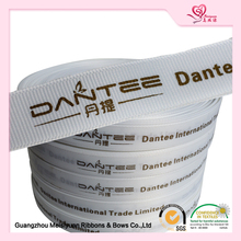 New design customized printed wholesale grosgrain ribbon designer printed grosgrain ribbon