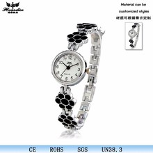 Casual Slim Alloy Strap Fashion Hand Chian Ladies Watch Online shopping