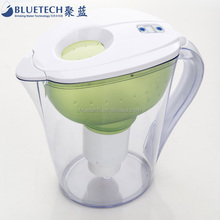 High PH lower down ORP values water filter jug for alkaline water filter bottle