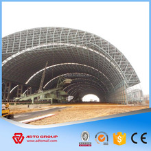 Light Steel Structure Rigid Frame H Columns Structural Truss Roof Building Metallic Warehouse Plant Materials