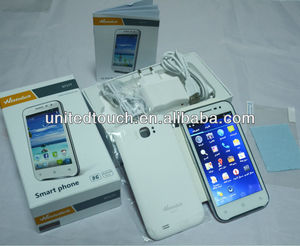 2013 new 5 inch android smart phone S7 MTK6577 WiFi GPS 3G made in China touch screen mobile phone