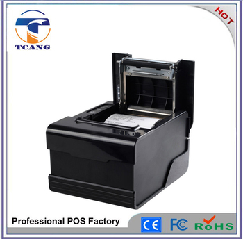 80 mm POS bluetooth android printer thermal receipt printer with cutter