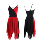 Lyrical Morden Dance Dress Costumes For Women Performance Wear
