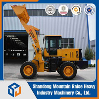 2.2 ton Wheel Loader Compact Front End Loader for Sale