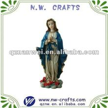Religous statue Mother of God,resin virgin mary