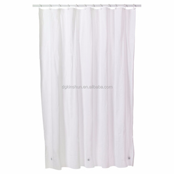 Peva shower curtain liner ,shower vinyl curtains , pvc free bathroom shower curtain