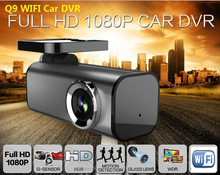 170 degree view angle Q9 1080P Full HD Car DVR WiFi dashcam