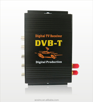Top quality HD mpeg4 car Digital TV DVB-T receiver TV box with sd (double tuner with 250km/h)