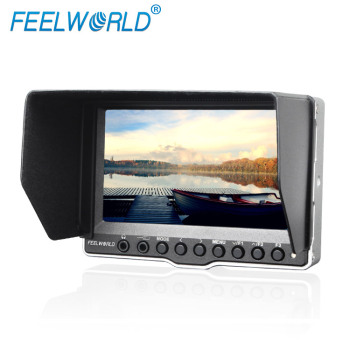 "Feelworld battery support 3G-SDI portable aluminum photographic equipment 16:9 Aspect ratio brightness 350cd/m 5"" hdmi monitors"