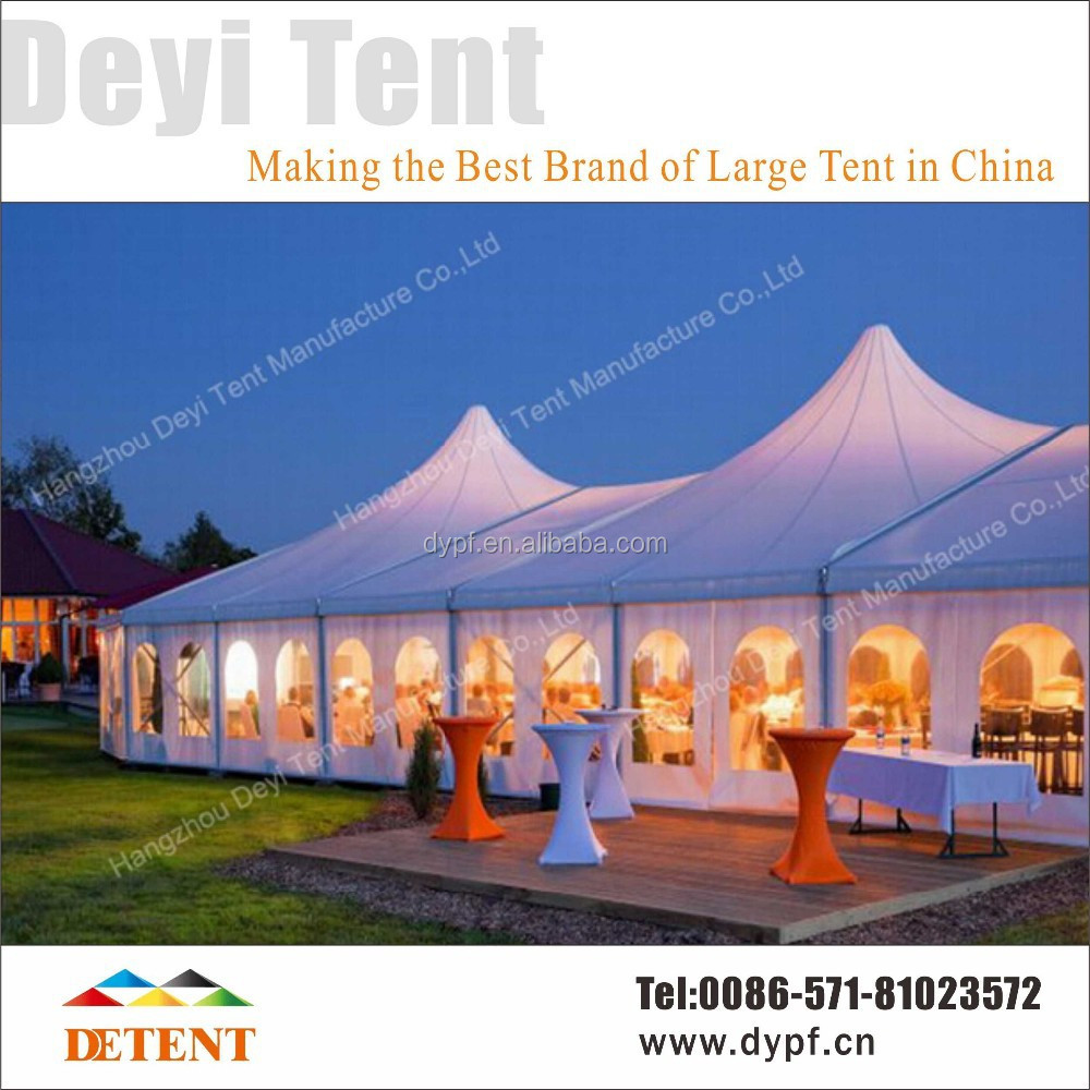Business Tent / Promotion Tent for Sale from China - Large Tent 25x60m with High Peak for 1000 People