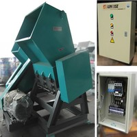 Plastic bottle recycle grinder crusher