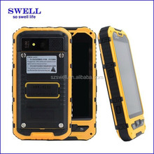 cheap durable rugged waterproof android smart mobile phone with OTG USB TFT Screen