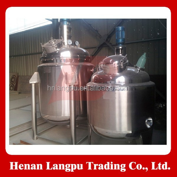 Stainless steel electrical heating reaction tank mixing reactor