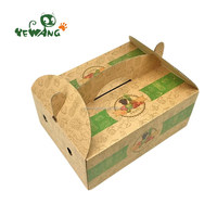 New products hot selling pet home carrier paper box